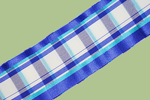 Vintage Plaid Grosgrain Ribbon