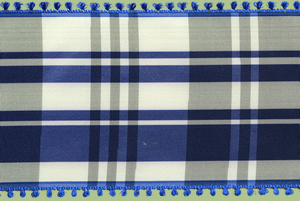 Vintage Taffeta Plaid Ribbon